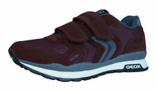 Chaussures rouges moyen en cuir pour garçon de 2 à 16 ans