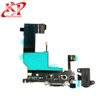New OEM For iPhone 5 Black USB Charger Dock Connector Charging Port Replacement