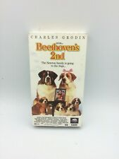 Beethoven's 2nd - VHS (1993, CC, MCA Universal Home Video)