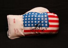 RAY MERCER OLYMPIC GOLD MEDAL AUTOGRAPHED SIGNED USA FLAG BOXING GLOVE