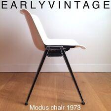OSVALDO BORSANI TECNO MODUS chaise empilable design vintage space age 1973 TBE