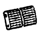 VAUXHALL ventilación Bandeja-ORIGINAL-90436159