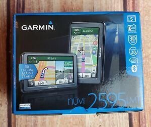 Garmin Nuvi 2595LMT GPS Navigation Lifetime Maps & Traffic NEW IN BOX!