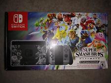 BRAND NEW! Nintendo Switch - Super Smash Bros Ultimate Console Bundle! SEALED