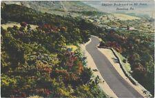 1930's postcard - Skyline Boulevard on Mt. Penn, Reading, Pa.