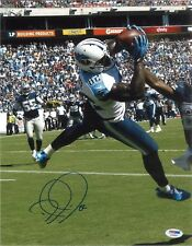 Delanie Walker Signed Autographed 11x14 Photo PSA DNA COA Tennessee Titans eb4da1aed