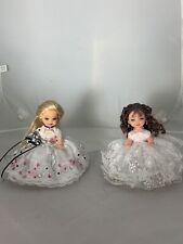 OOAK KELLY DOLL Set Of 2 Dressed In Formal Dresses