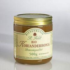 Bio Korianderhonig Bienenhonig 500g Glas Koriander Honig Brotaufstrich