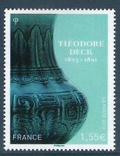 TIMBRE 4797 NEUF XX LUXE - VASE EN FAIENCE DE THEODORE DECK