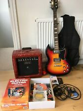 SWIFT Electric Guitar, Starter Pack, carry bag, strap and Korg Solo Tuner