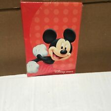 Disney store childs size Mickey Mouse sealed photo album brand new