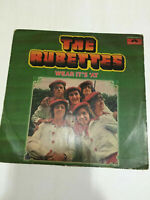 THE RUBETTES WEAR ITS AT RARE LP RECORD vinyl Orig Polydor INDIA INDIAN VG+