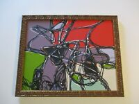 SAMUEL CONTEMPORARY ABSTRACT EXPRESSIONISM PAINTING CUBIST LANDSCAPE CALIFORNIA