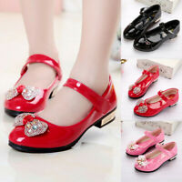 Infant Shoes Kids Baby Girls Bling Bowknot Single Princess Shoes Sandals