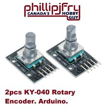 2Pcs KY-040 Rotary Encoder Module for Arduino AVR PIC Board. Contact & SAVE $$$