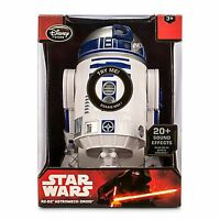 """Disney Store Star Wars Force Awakens R2-D2 Droid Talking Figure 10 1/2"""" Sold Out"""