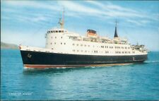 Postcard Shipping Isle Of Man Ferry Lady of Mann J Salmon  card unposted