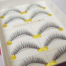 Short Cross Natural False Eyelashes Luxurious Handmade Soft Eye Lashes D003