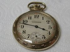 Pocket Watch Railroad Model 1179881 Studabaker South Bend 21 Jewelry Railroad