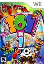 101-in-1 Party Megamix - Nintendo Wii video game COMPLETE VG * Atlus