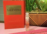 Valentino VOCE VIVA The NEW EAU DE PARFUM .04oz/1.2ml CARDED SAMPLE