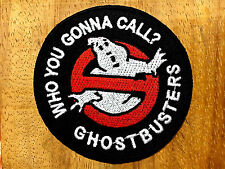 Ghost busters Embroidered Iron Or Sew On Patch Badge Logo Fancy Dress New