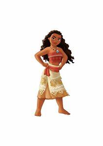 Disney Princess Moana wall /cupboard sticker - 297mm x 136mm