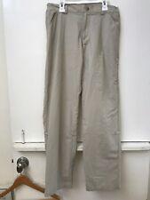 Columbia PFG Roll Up Fishing Outdoor Pants Size XS Tan Beige Omni Shade Womens