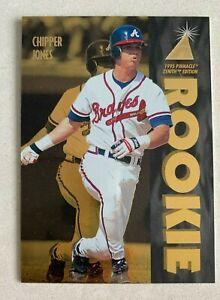 MLB CHIPPER JONES Braves Pinnacle 1995 Pinnacle Zenith GOLD FOIL Card #111