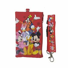 Disney Mickey & Friends ID Holder Lanyard with detachable Coin Purse Fastpass
