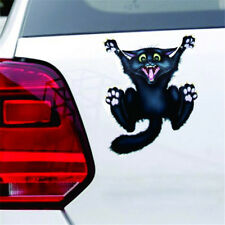 Black Cat Paw Reflective Waterproof Car Sticker Bumper Reflective Sticker CF