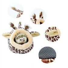 Animal Hamster Bed Hammock Rat Hedgehog Squirrel House Nest Giraffe Style Ea7X