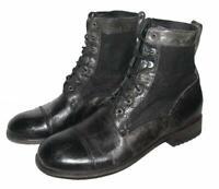 """"""" Sendra """" D'Homme Chaussures/Schnür- Bottes/Chaussures de Travail en Noir Env."""