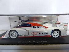 Spark Concept Car Peugeot 908 Le Mans Car Paris 2006