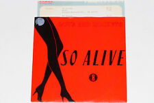 """Love & Rockets-così Alive/Bike - 7"""" 45 con product Facts PROMO-Flyer"""