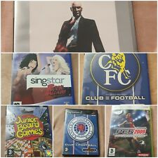Playstation 2 Spiele-eine Vielzahl von Spielen zur Auswahl.