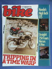 BIKE - October 1982 - Honda VF750 - Yamaha XJ750 - Honda 125T Superdream