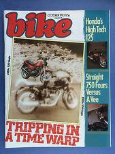 Bike - Oktober 1982 - Honda VF750 - Yamaha XJ750 - Honda 125T superdream
