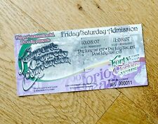Fairport's Cropredy Convention Ticket Stub 2007