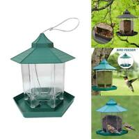 Outdoor Hanging Wild Bird Feeders Squirrel Proof Seed Food Yard Garden Decor NEW