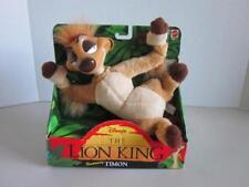 DISNEY LION KING TIMON Plush & Vinyl Figure #11708 New in BOX 1994 Mattel