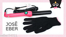Jose Eber 19 mm Clipless Curling Iron, Curling Wand - Hot Pink. Comes with glove