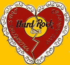 Hard Rock Cafe ORLANDO 2000 VALENTINE'S DAY Heart PIN 2-Piece Puzzle Card #6891