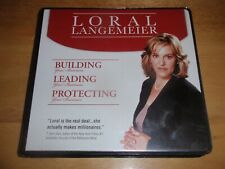 Loral Langemeier Building Leading Protecting Your Business 4-disc Audio Cd Set