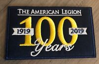 American Legion Embroidered Patch 100 Year Anniversary 2019 Iron Sew On Military