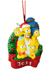 2014 The Simpsons Family Christmas Ornament