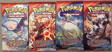 4 Sealed 2015 Pokemon Booster Packs XY Primal Clash All 4 Arts