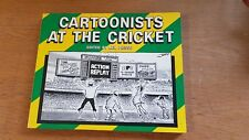 cartoonists at the cricket (ken piesse-edoit) paperback