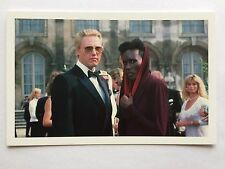 CARTE POSTALE JAMES BOND CHRISTOPHER WALKEN GRACE JONES POSTCARD 007