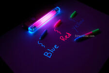 Invisible TriColor UV Ink Markers & Blacklight Combo